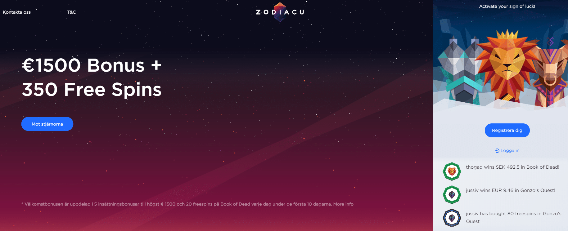 zodiacustart