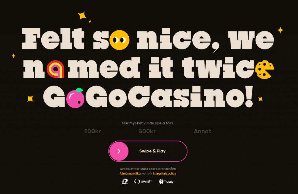 Gogo casino lobby